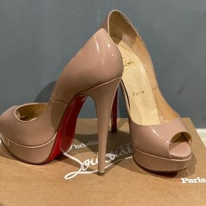 Christian Louboutin Shoes - Louboutin Lady peep